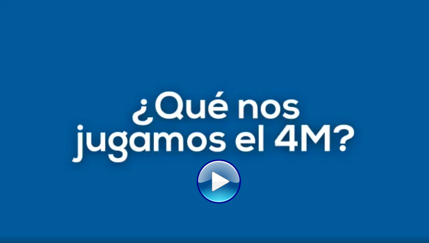 video que nos jugamos el 4m